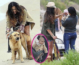Photos of Camila Alves With Daughter Vida McConaughey in Barcelona