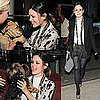 Photos of Rachel Bilson Kissing Two Cute Dogs at Ann Taylor Fall 2010 Collection Event in NYC