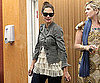 Slide Photo of Katie Holmes Leaving a Business Meeting in LA Wearing Sunglasses
