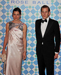 Charlotte,Andrea and Pierre Casiraghi attend the 2010 Monte Carlo Rose Ball