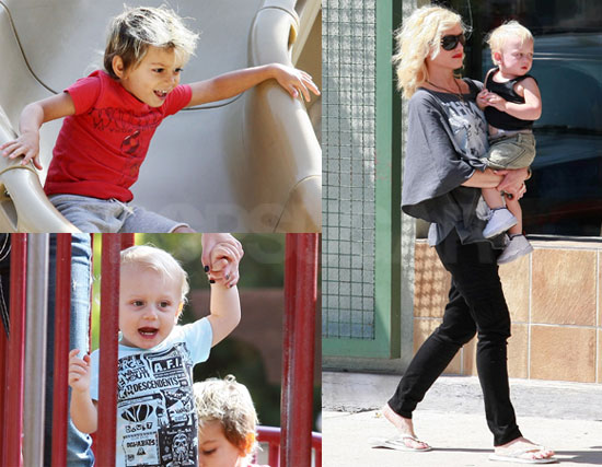Photos of Gwen and Boys