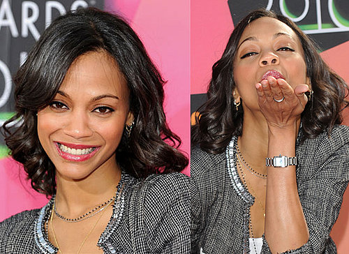 Zoe Saldana at 2010 Kids Choice Awards 2010-03-28 14:38:31