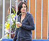 Slide Photo of Courteney Cox on Cougar Town Set