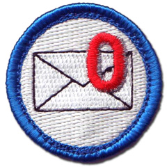 Inbox Zero Nerd Merit Badge