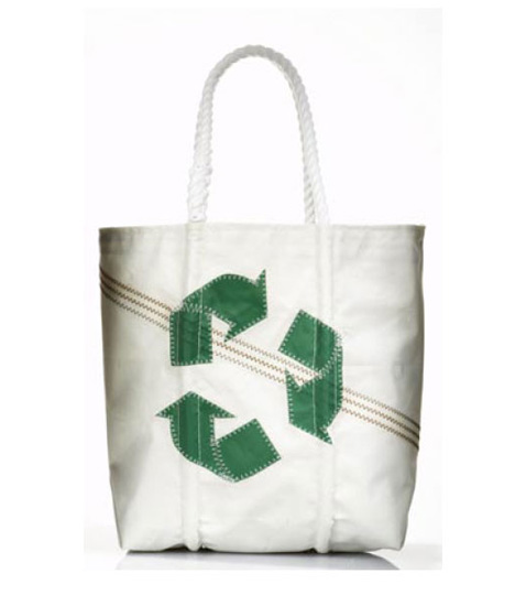 Medium Recycle Sign Bag, approx $120.11 from Sea Bags
