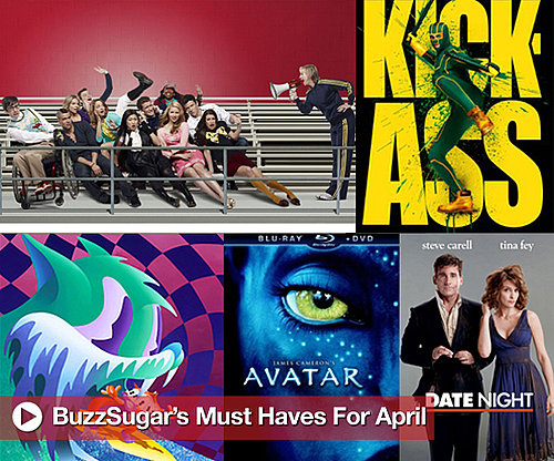 April's Must Have Music, TV Shows, and Movie Releases