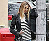 Slide Photo of Whitney Port Wearing Striped Tank in New York