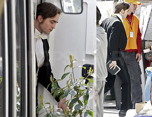 Photos of Robert Pattinson on the Set of Bel Ami in Budapest, Hungary