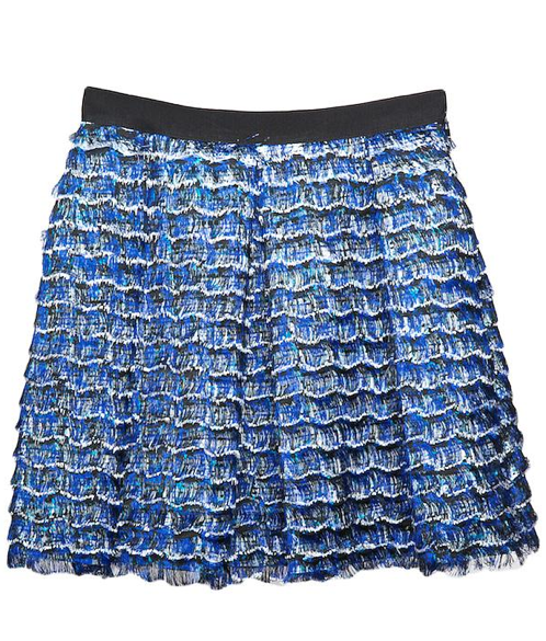 Proenza Schouler Eyelash Mini Skirt