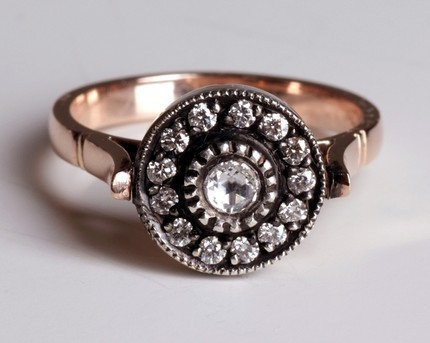 15 Fabulously Nontraditional Engagement Rings