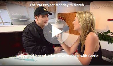 John Travolta reportedly cancels interviews after talking to The 7PM Project's Carrie Bickmore
