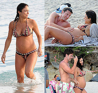 Bethenny Frankel Pregnant Bikini Photos on Honeymoon in St. Barts