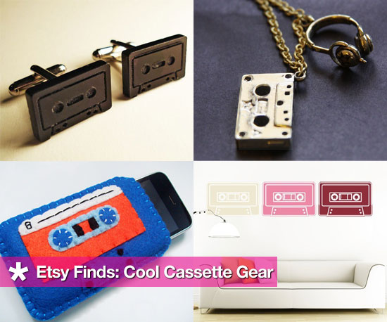 Etsy Finds: Cool Cassette Gear
