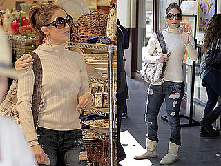 Photos of Jennifer Lopez Shopping at The Grove in Los Angeles