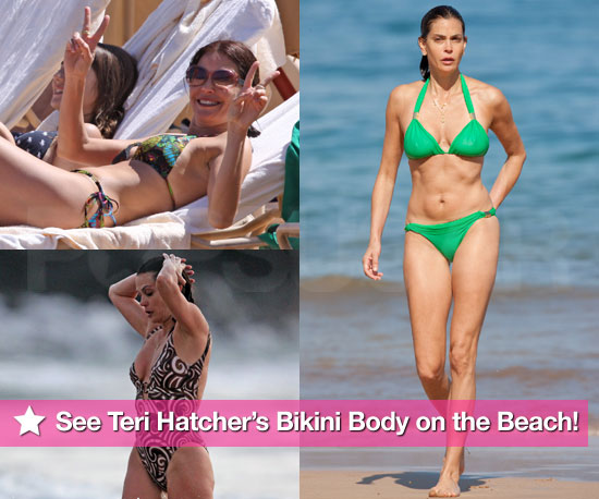 Teri Hatcher Bikini Photos in Hawaii With Emerson. Previous 1 / 6 Next