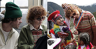 Photos of Susan Sarandon and Jonathan Bricklin Together in Peru