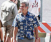 Slide Photo of George Clooney in Hawaii