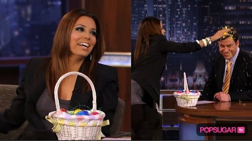 Eva Longoria on Jimmy Kimmel Live