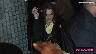 Video of Lindsay Lohan Falling Down in LA