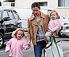 Picture of Jennifer Garner With Violet And Seraphina in LA