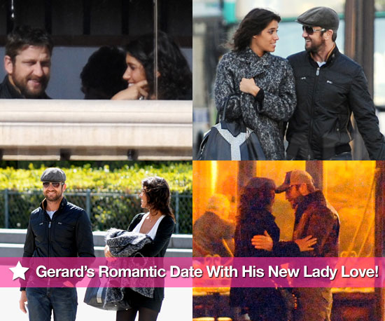 Pictures of Gerard Butler's Romantic Date With His New Lady Love!