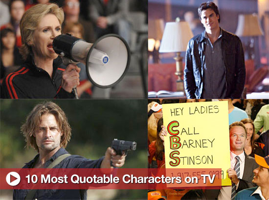 10 Characters on TV With the Best Lines