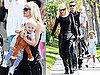 Photos of Gwen Stefani, Gavin, Kingston, and Zuma Rossdale Attending an Easter Party in LA