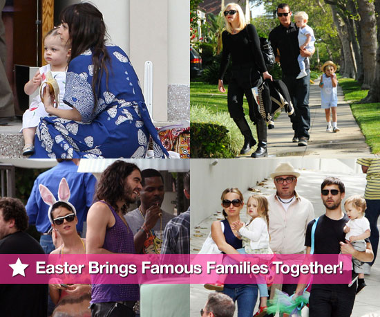 Easter Brings Famous Families Together!