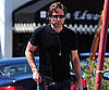 Slide Photo of David Duchovny in LA