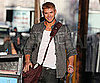 Slide Photo of Kellan Lutz at Jimmy Kimmel Live