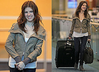 Photos of Anna Kendrick Arriving in Vancouver