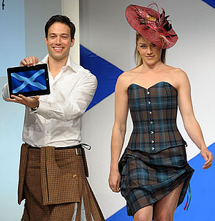 iPad on the Runway at the Glenfiddich Dressed to Kilt Fashion Show