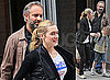 Photos of Separated Couple Sam Mendes and Kate Winslet Taking Children Joe and Mia To School in New York