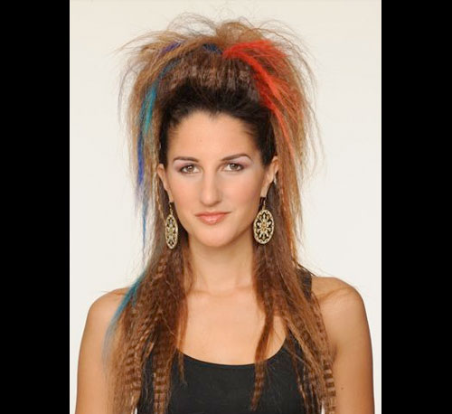 80s Crimped Hairstyles Related Keywords & Suggestions
