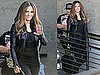Pictures of Jennifer Lopez Leaving a Photo Shoot in LA