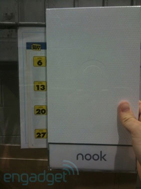 The Nook Being Sold at Best Buy