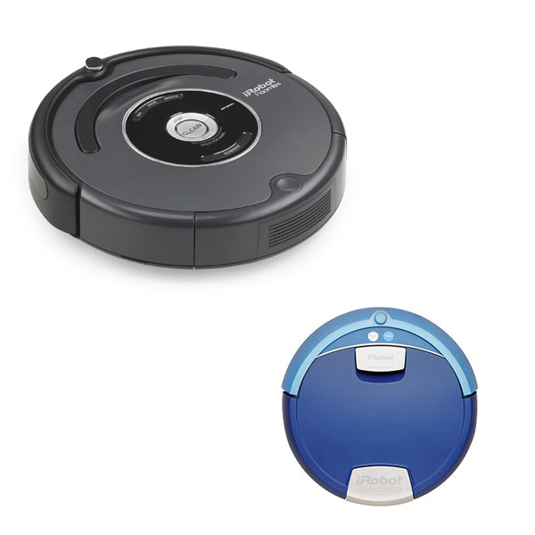 Roomba ($335) and Scooba ($250)