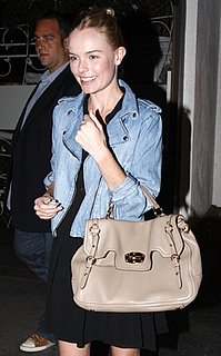 Kate Bosworth in Light Moto Jacket in LA