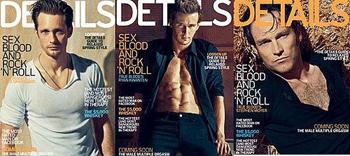 Which Sexy True Blood Guy Has the Hottest Details Cover?