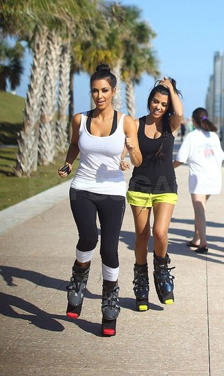Photos of Kim and Kourt