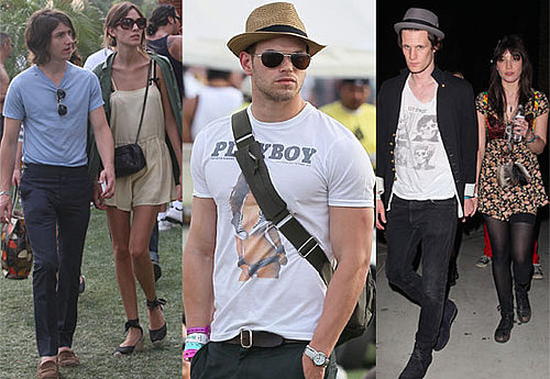 Photos of Celebrities at the Coachella Music Festival 2010 including Matt Smith, Peaches Geldof, Alexa Chung, Jay-Z, Kellan Lutz