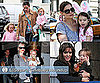 Pictures of Katie Holmes, Suri Cruise, Angelina Jolie, Knox Jolie-Pitt, Jennifer Garner, Violet Affleck, Gwen Stefani and Zuma