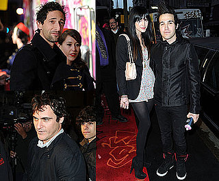 Pictures of Joaquin Phoenix, Adrien Brody, Ashlee Simpson and Pete Wentz At Banksy Documentary in LA