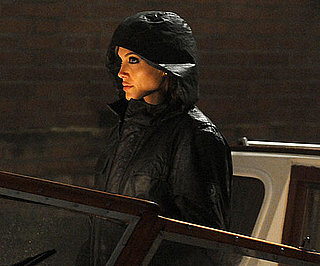 Slide Picture of Angelina Jolie on The Tourist Set in Venice