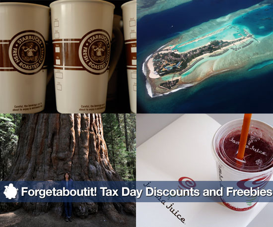 Forgetaboutit! Tax Day Discounts and Freebies