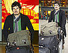 Pictures of Orlando Bloom at Heathrow