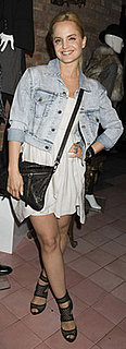 Mena Suvari Wears Alice + Olivia to Bower Hotel
