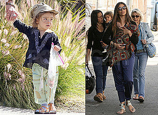Pictures of Levi McConaughey Hanging Out With His Family in LA