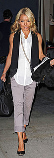 Kelly Ripa Carries Hermes Birkin in New York