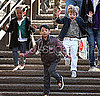 Pictures of Brad Pitt and Kids At Park and Eating Ice Cream in Venice 2010-04-16 16:50:50